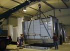 Aufbau eines Waschanlagentunnels