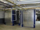 Kammer-Pulvereinbrennöfen mit Schiebetüren, indirekt Gas beheizt