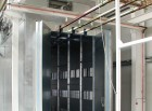 Kammer-Pulvereinbrennofen mit Flügeltüren, indirekt Gas beheizt