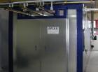 Kammer-Pulvereinbrennofen mit Schiebetüren, indirekt Gas beheizt