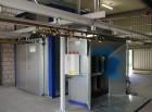 Pulverbeschichtungsanlage für Al-Druckgußteile im Maschinenbau
