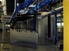 Automatische Pulverbeschichtungsanlage für Brandschutztüren